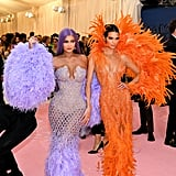 Kendall and Kylie Jenner at the 2019 Met Gala