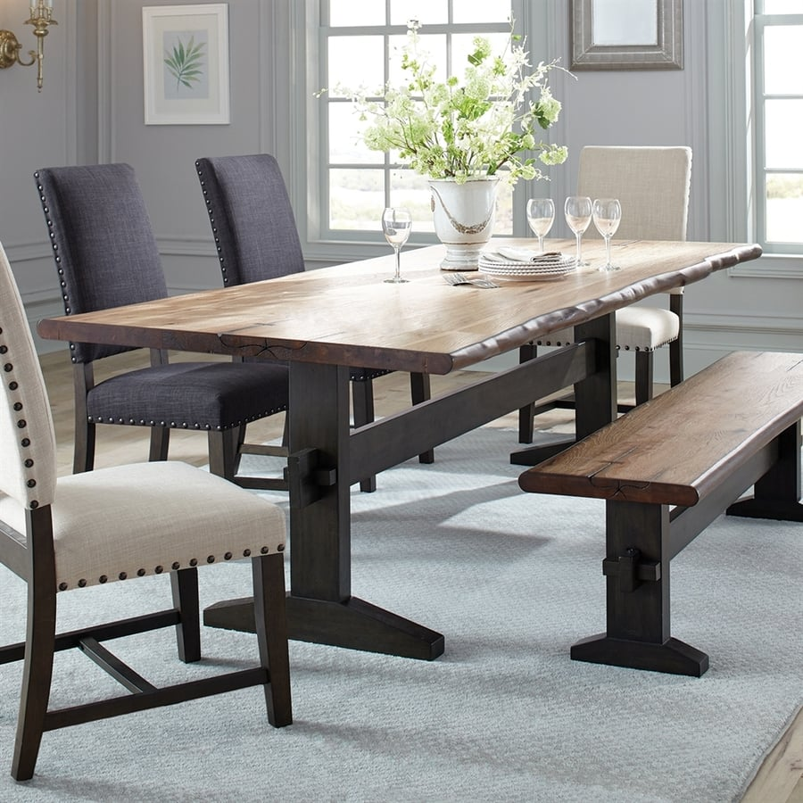 Live Edge Kitchen Table: Property Brothers Furniture At Lowe's