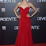 Shailene Woodley in Donna Karan Atelier at the 2014 Divergent Madrid Premiere
