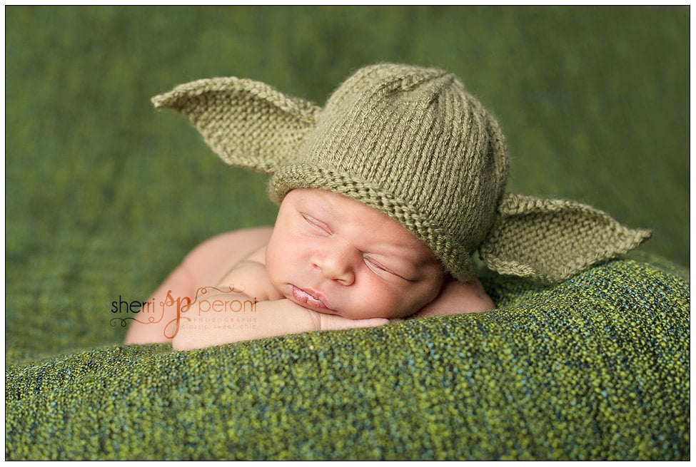 Newborn Yoda Hat Star Wars Photo Prop ($33)