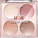 L'Oréal Paris True Match Lumi Glow Nude Highlighter Palette in Moonkissed