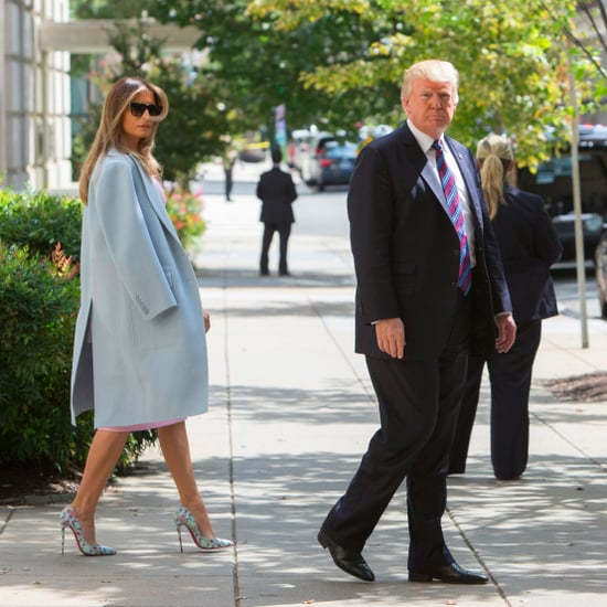 Melania Trump Christian Louboutin Python Pumps
