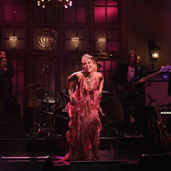 Miley Cyrus Wears 16Arlington Dress For Saturday Night Live