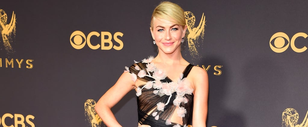 There's a Pair of $90 Shoes Hiding Under Julianne Hough's Emmys Gown