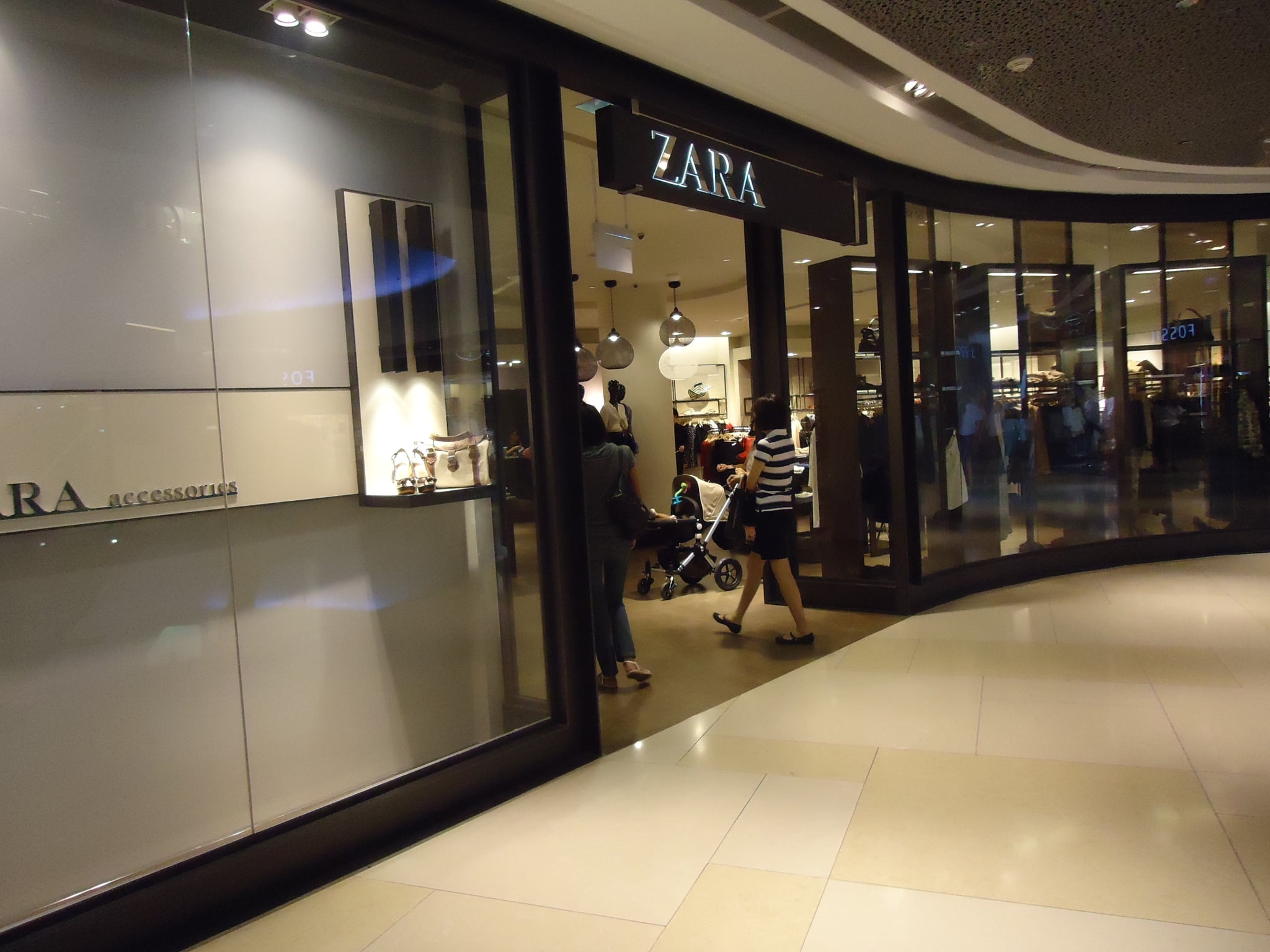 Hardest to walk out of? Zara, without doubt.