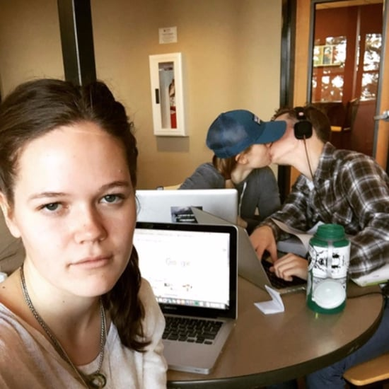 Woman's Third Wheel Instagram Account