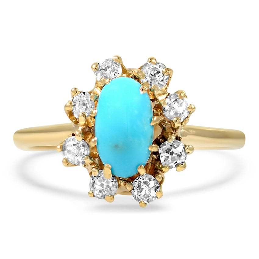 The Estrellita 14k Yellow Gold Ring