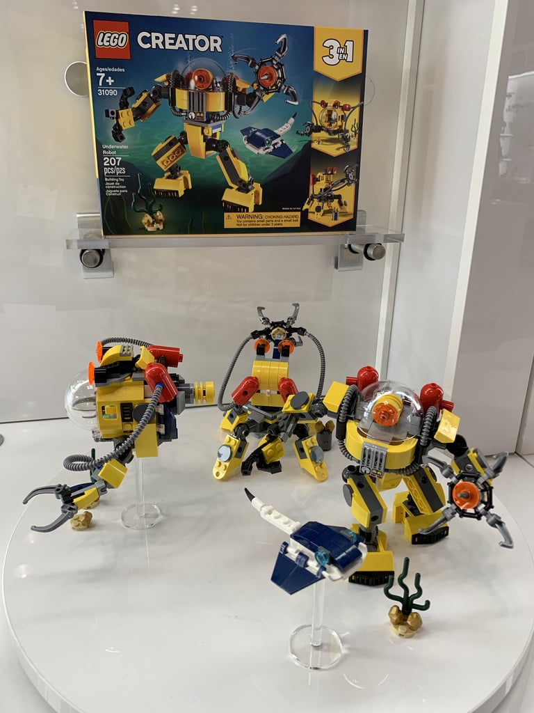 lego creator underwater robot best new lego sets 2019. Black Bedroom Furniture Sets. Home Design Ideas