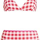 Solid & Striped The Brigitte Gingham Bikini