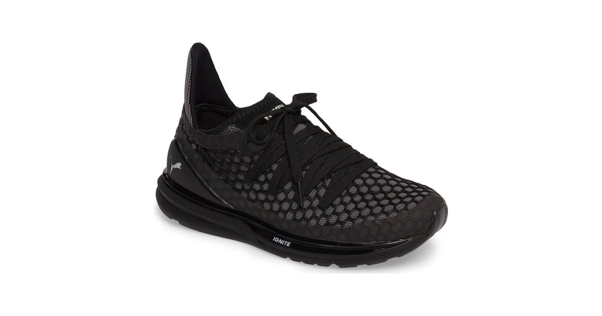 online retailer cfeb8 326d2 Puma Ignite Limitless Netfit Running Shoes | Best Black ...