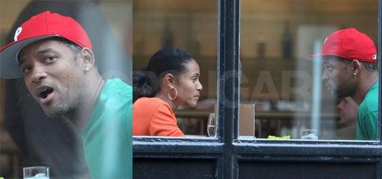 Will & Jada Break For Lunch
