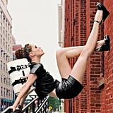 Longchamp's NYC-shot Spring '12 campaign certainly defies gravity. Source: Fashion Gone Rogue