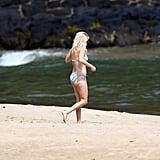 Reese Witherspoon in a bikini in Hawaii.
