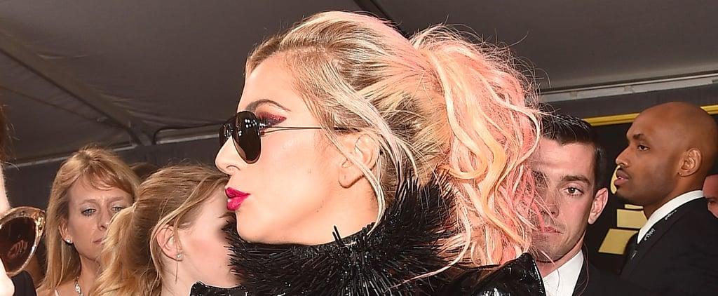 Lady Gaga Makes Blorange Hair Look Rocker-Chic at the Grammys