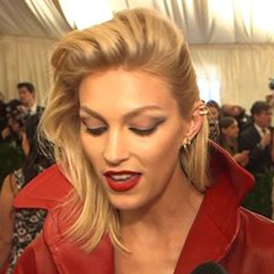 Watch Anja Rubik at the Met Gala