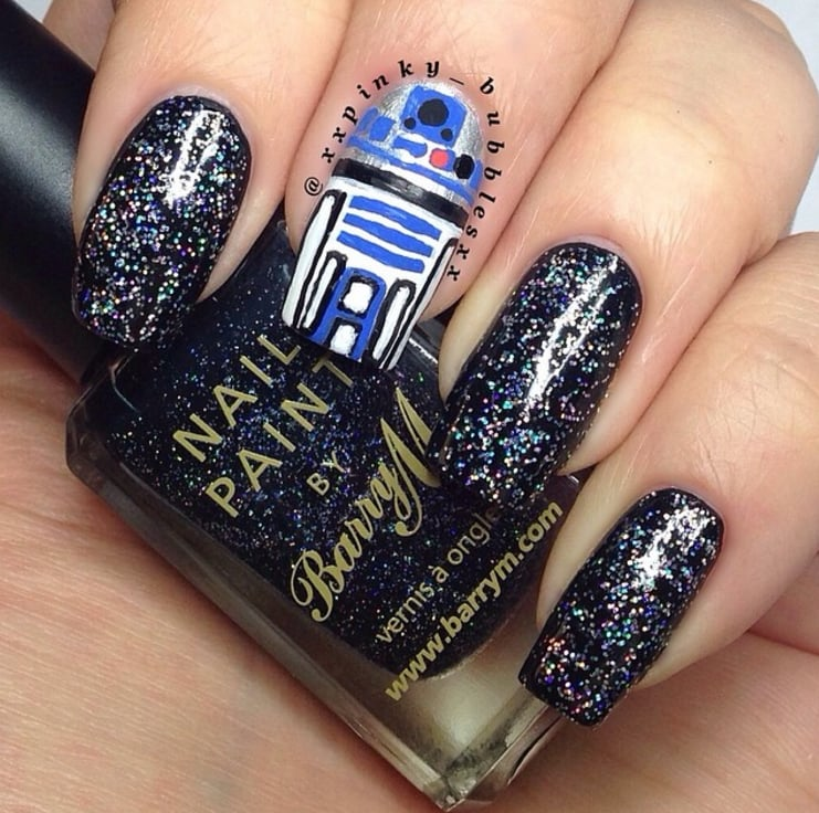 Star Wars Nail Art Popsugar Beauty Middle East Photo 38