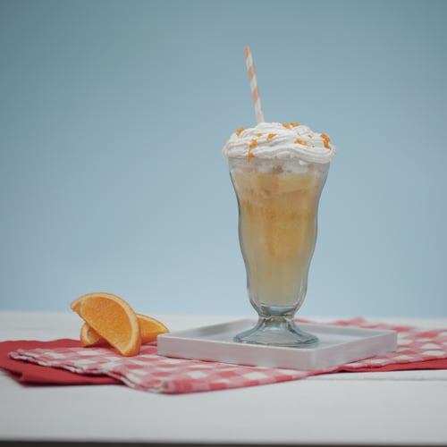 Kombucha Creamsicle Float