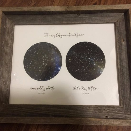 Custom Star Map Gift For Parents