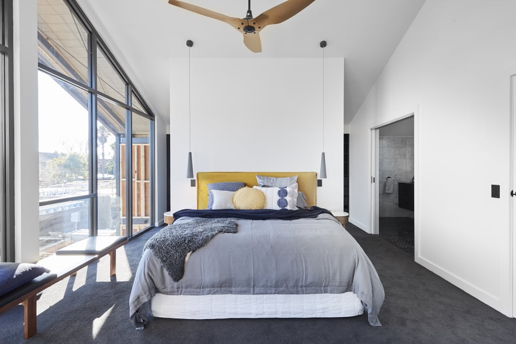 The block 2017 jason and sarah 39 s master suite popsugar for The block master bedroom