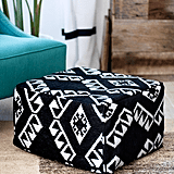 Re-Covered Pouf