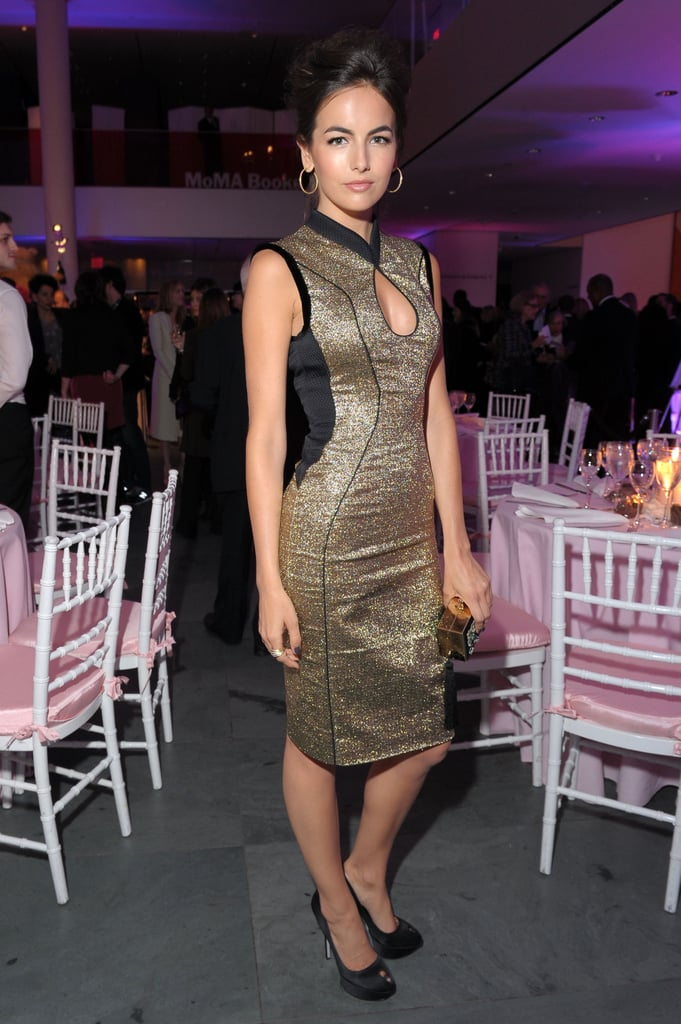 Camille Belle stunned in this Fall '12 Jason Wu dress — the front keyhole cutout is sexy without showing off too much.