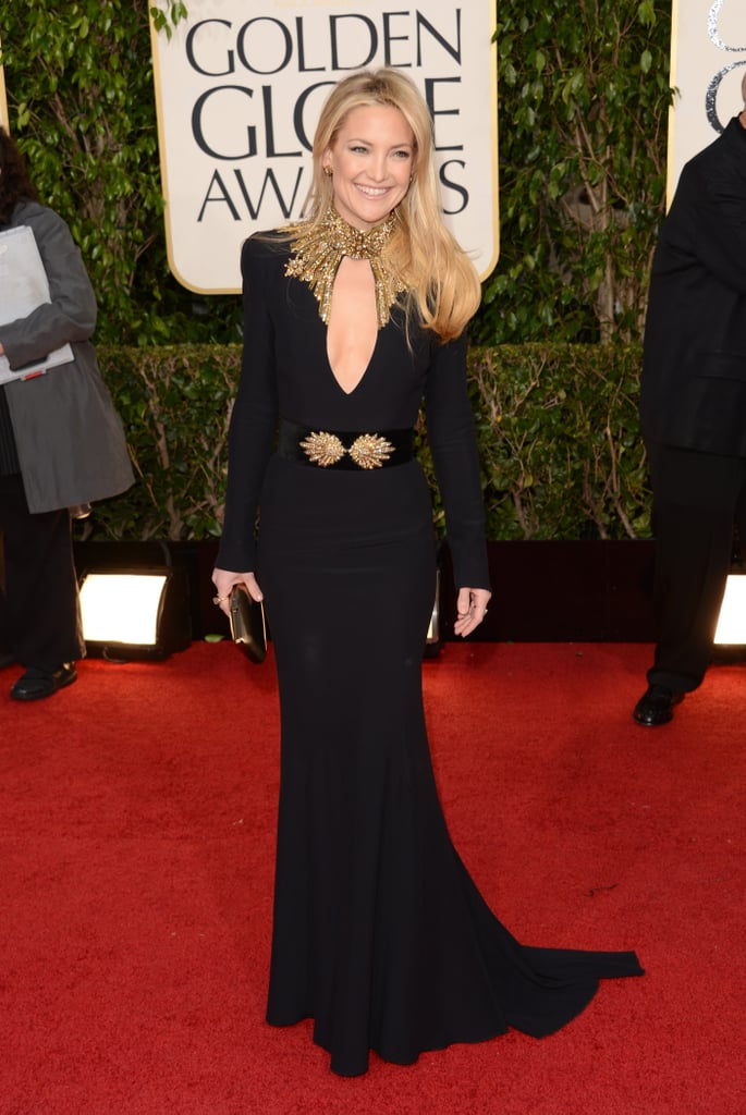 Kate Hudson in Alexander McQueen in 2013.
