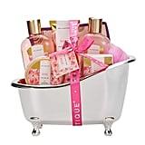 Spa Luxetique Rose Home Bath Set