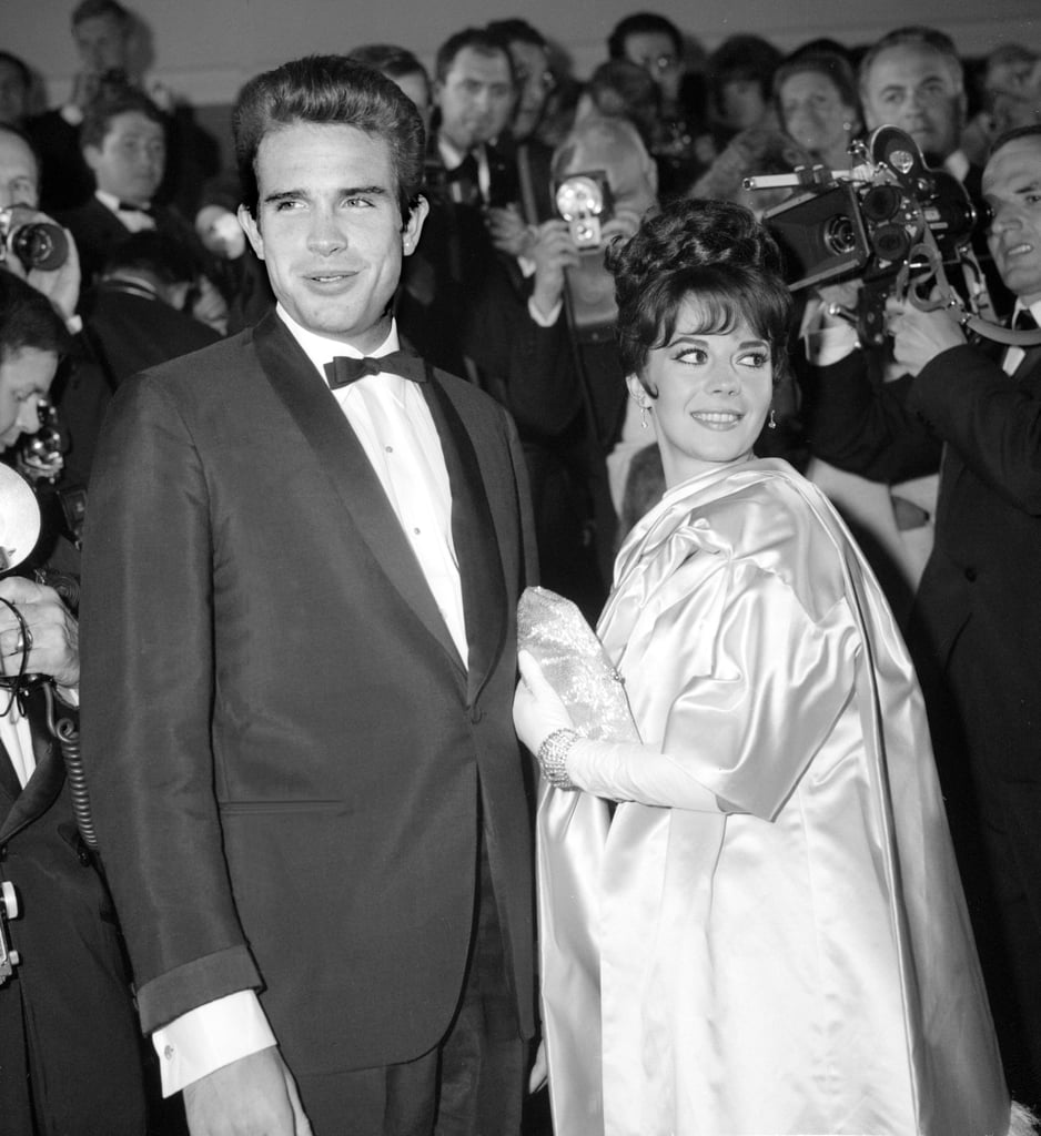 Warren Beatty hit the red carpet with his Splendor in the Grass costar Natalie Wood during the festival in 1962.