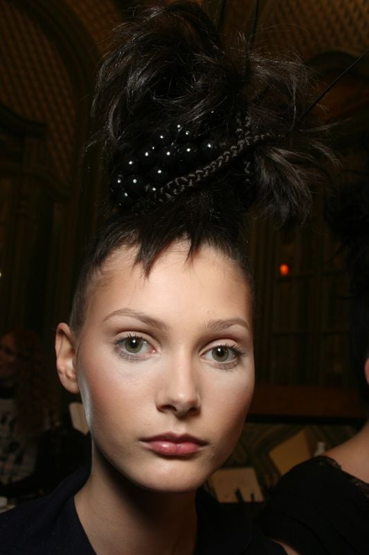 Backstage At The Blonds