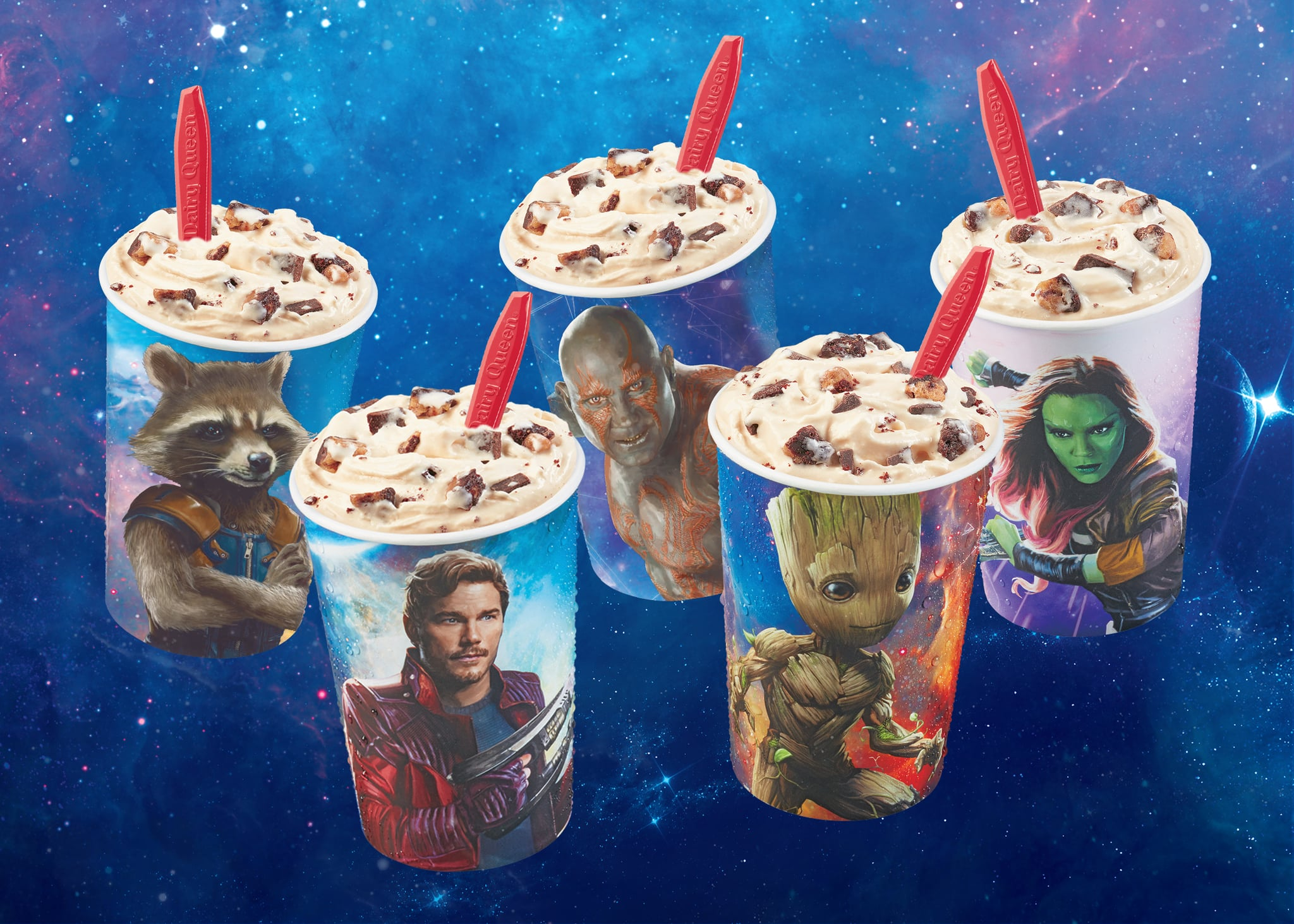 Dairy Queen Guardians of the Galaxy Blizzard | POPSUGAR Food