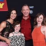 Tim Allen, Jane Hajduk, and Their 2 Kids at the Toy Story 4 Premiere
