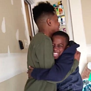 Brother Flies to Ohio to Surprise His Little Brother