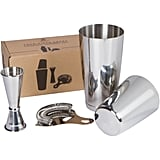 Boston Shaker Set: Professional two-piece Stainless Steel Cocktail Shaker set
