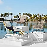 Small Huron Outdoor Lounge Chair and Cushion