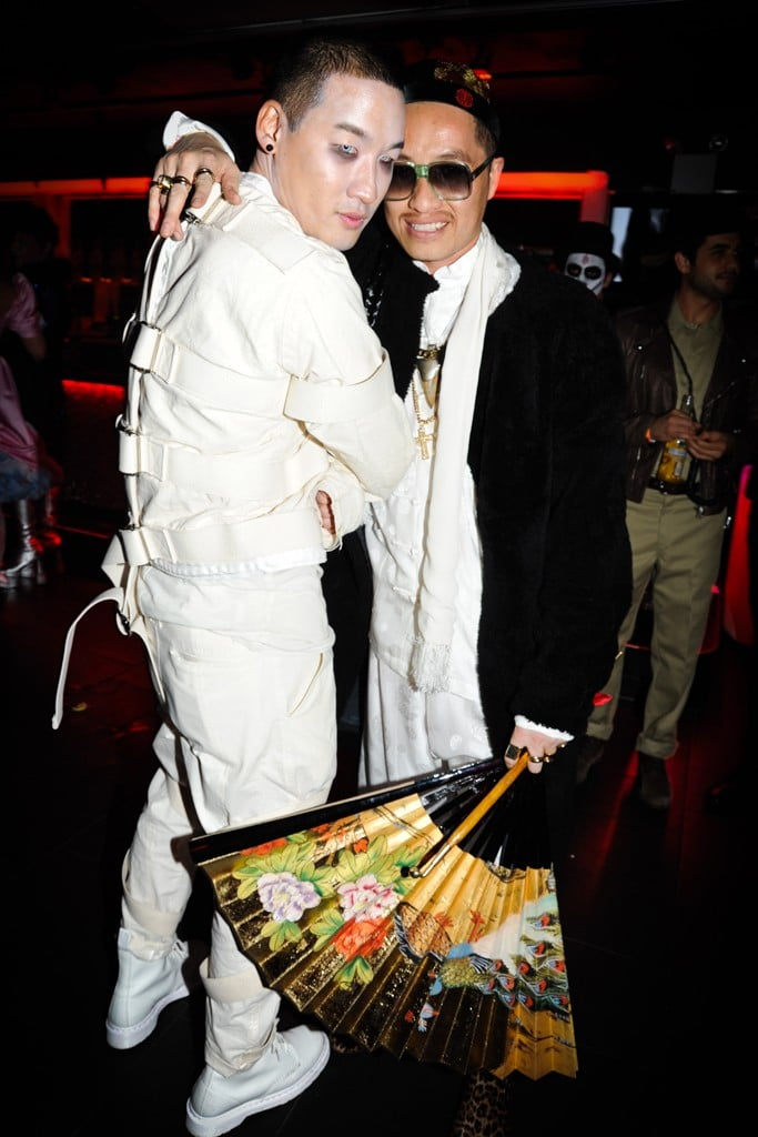 Richard Chai and Phillip Lim celebrated in costume at V Magazine's bash in 2011.