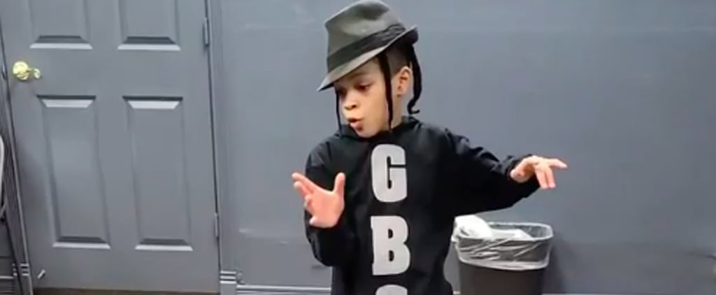 "Isaiah Jordan Dances to ""Singin' in the Rain"" in a New Way"