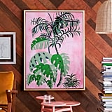 Palm Springs Pink Brush Canvas