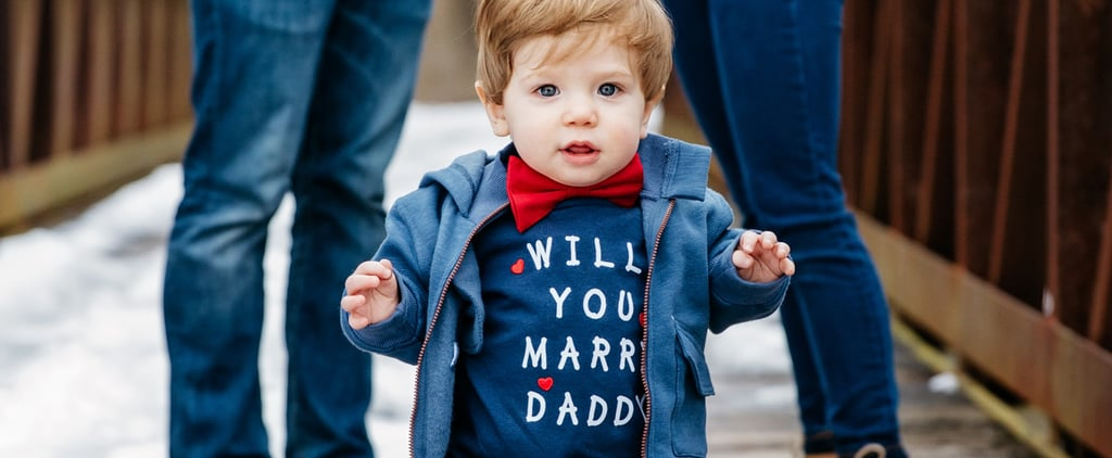 Couple's 1-Year-Old Son Helped Dad Propose in the Cutest Way Possible