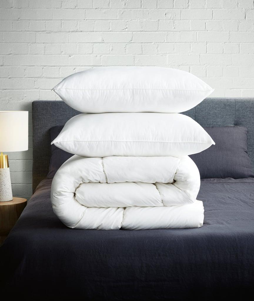 Organic Cotton Cover Queen Quilt, $69.99