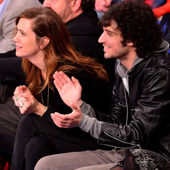 Kristen Wiig and Fabrizio Moretti at Knicks Game Together