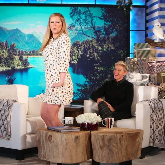 Amy Schumer's Response to Body Shamers on the Ellen Show