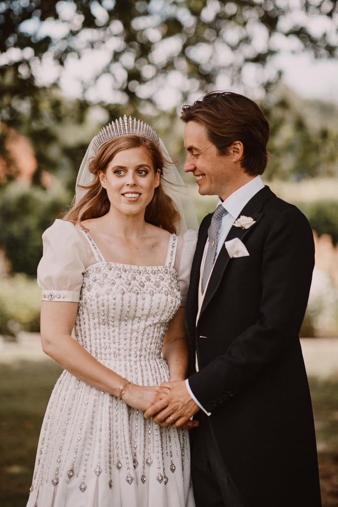 Princess Beatrice's Wedding Dress and Tiara