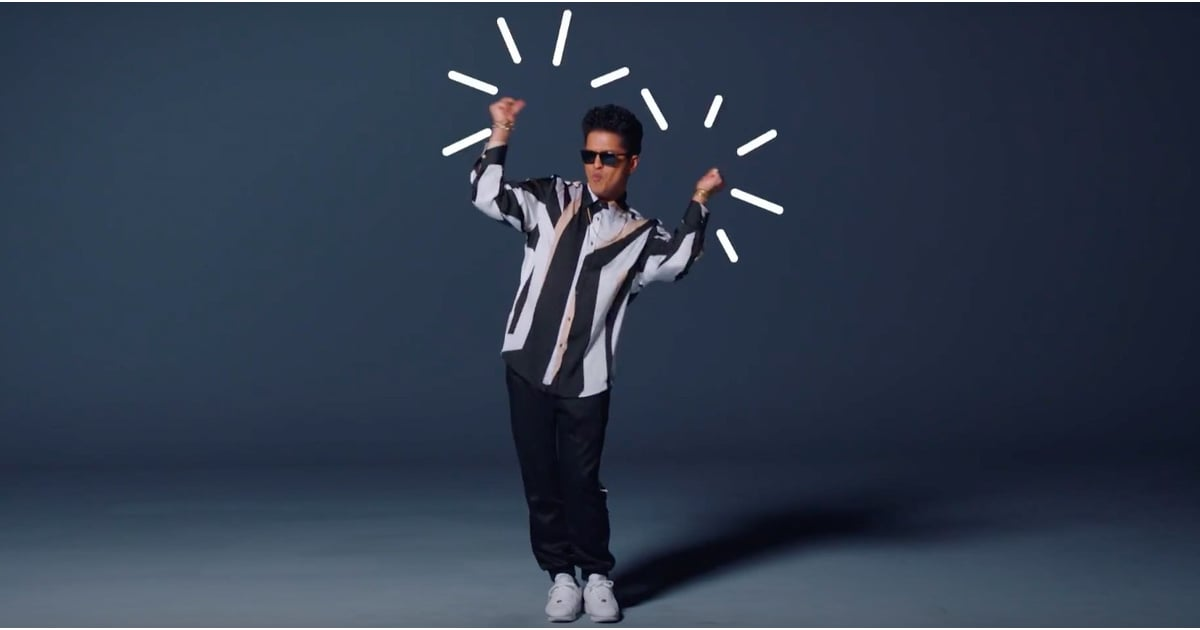 "Bruno Mars ""That's What I Like"" Video | POPSUGAR Entertainment"