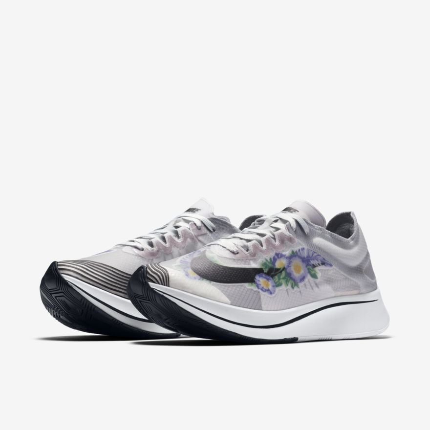 7b6f0264ab778 Nike Zoom Fly SP Women's Graphic Running Shoe | Nike Floral Sneakers ...