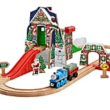 Fisher-Price Thomas the Train Wooden Railway Santa's Workshop Express