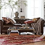 Dumbledore: Chesterfield Leather Sofa