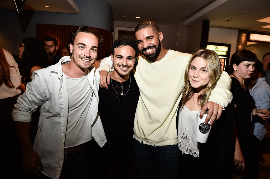 Drake Reunites With the Degrassi Cast