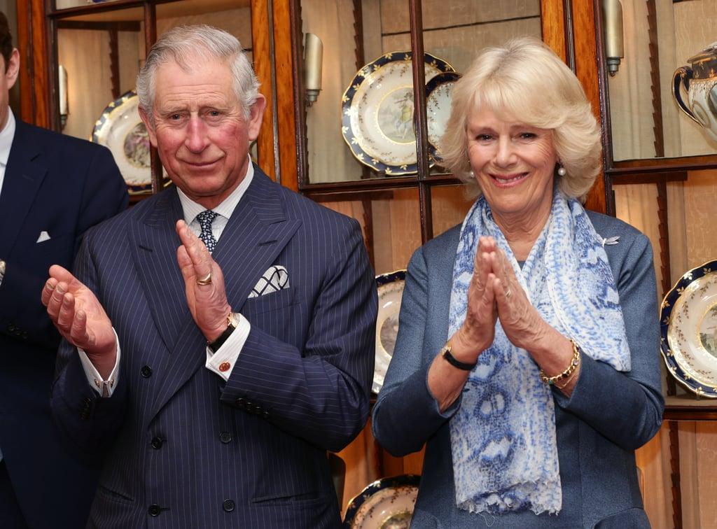 الأشخاص: الأمير تشارلز وكاميلا، دوقة كورنوال