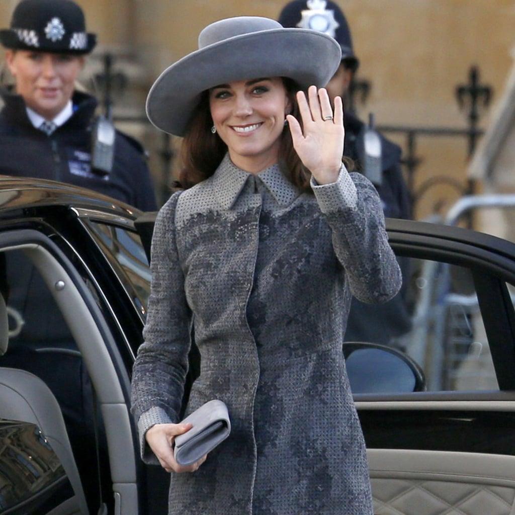 Kate Middleton Wearing an Erdem Coat