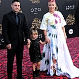 Pink at the Alice Through the Looking Glass Premiere in LA